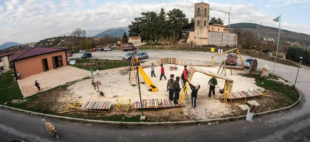 Viviamloaq, giovani aquilani alla triennale di Milano