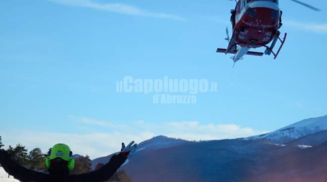 esercitazione soccorso alpino gdf vvf