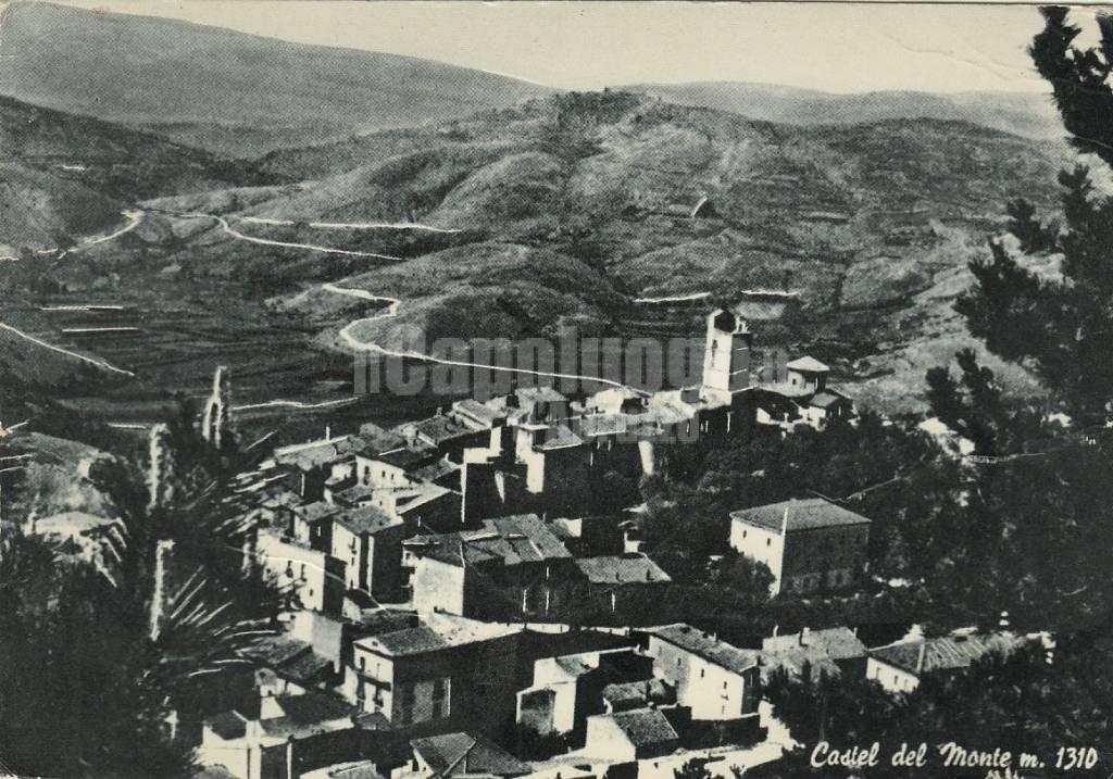 foto storica castel del monte