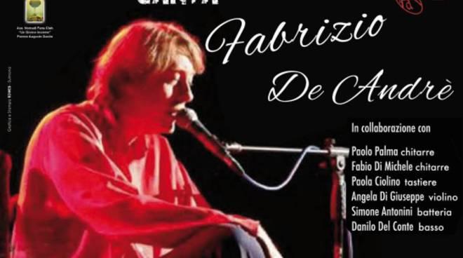 L'Aquila, a maggio concerto tributo a De Andrè