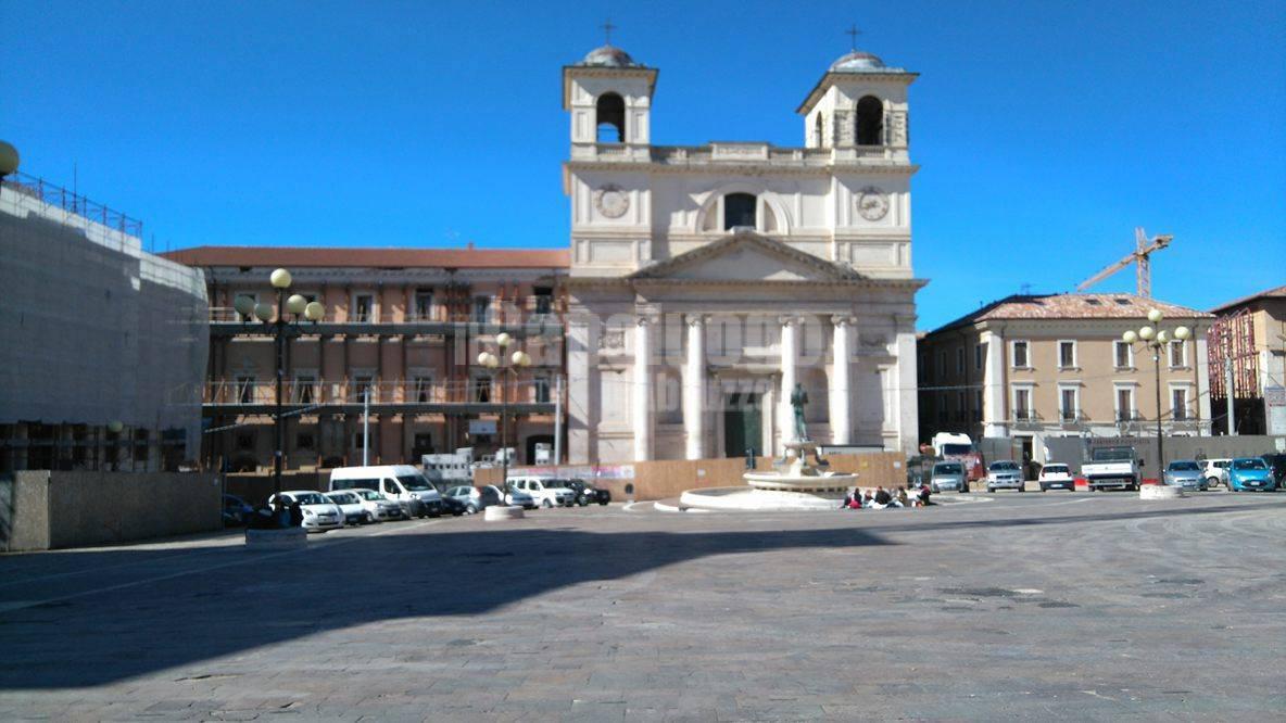 L'Aquila centro - marzo 2016