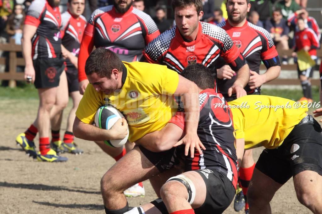 Paganica Rugby - Colleferro foto Spimpolo
