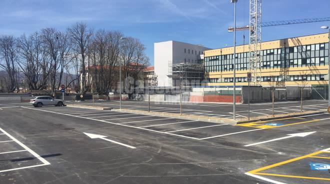 parcheggio del tribunale