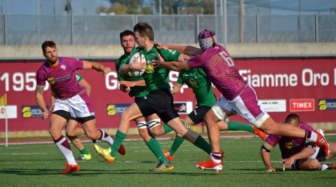 Rugby, L'Aquila cede alle Fiamme Oro