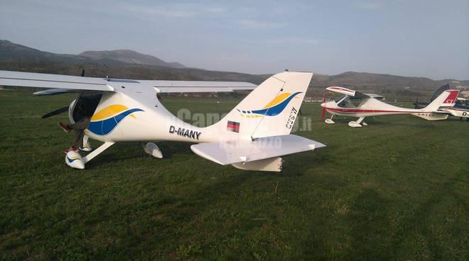 aeroclub in volo dall'austria