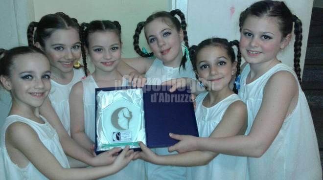 danza aquilana vince a roma