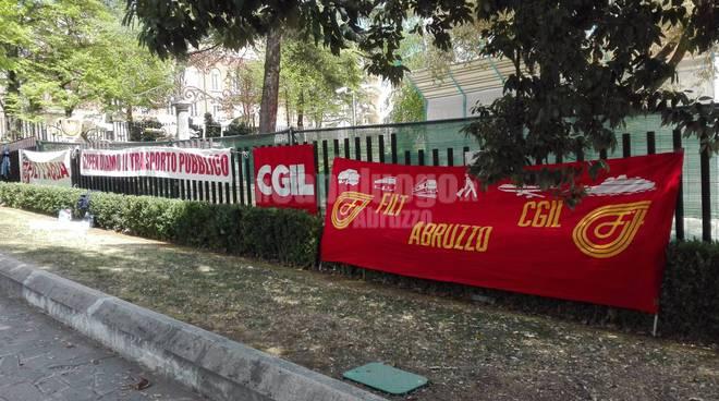 FILT CGIL presidio regione