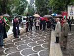 omaggio ai caduti villa comunale
