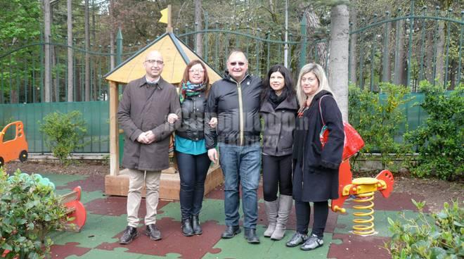 Parco giochi del Castello - consegna pavimentazione antiurto