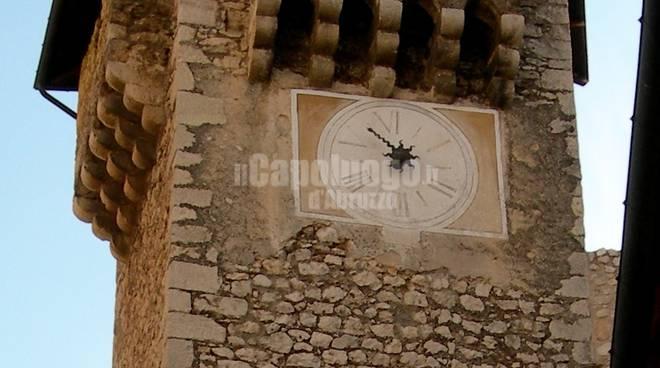 torre dell'orologio fontecchio