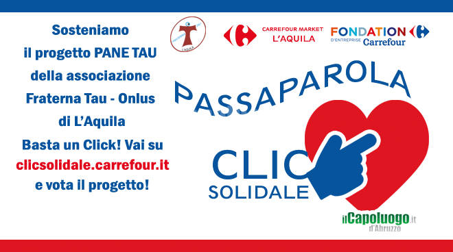cover fraterna tau clic solidale