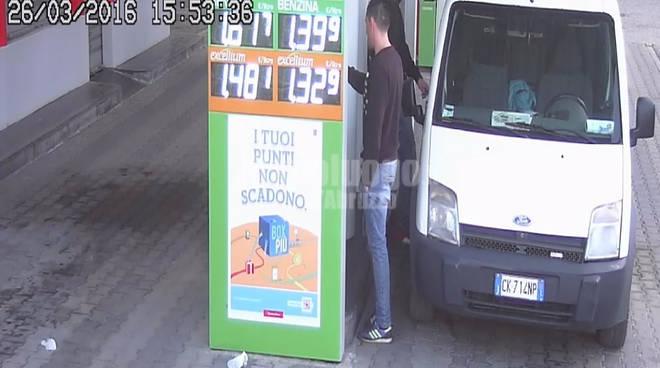 furto di gasolio