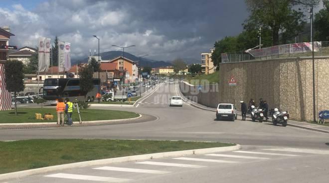 giro D'italia all'Aquila