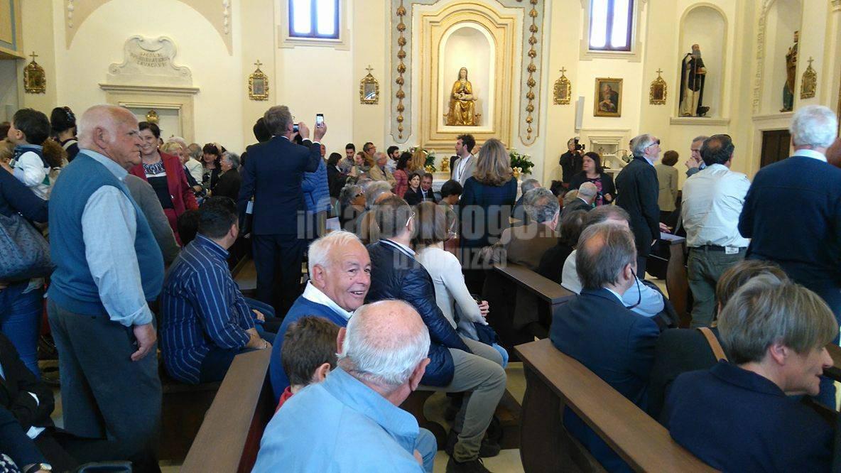 onna, inaugurazione chiesa
