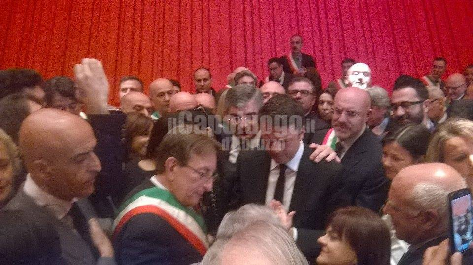 renzi all'auditorium