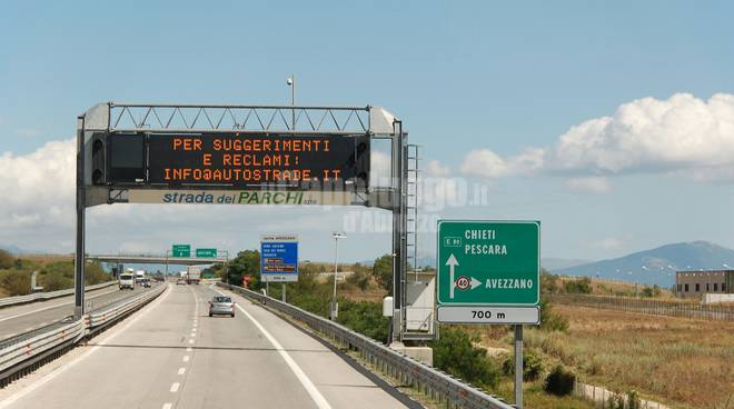autostrada dei Parchi