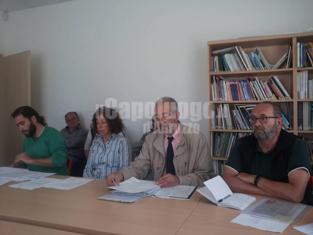 Conferenza stampa variante sud