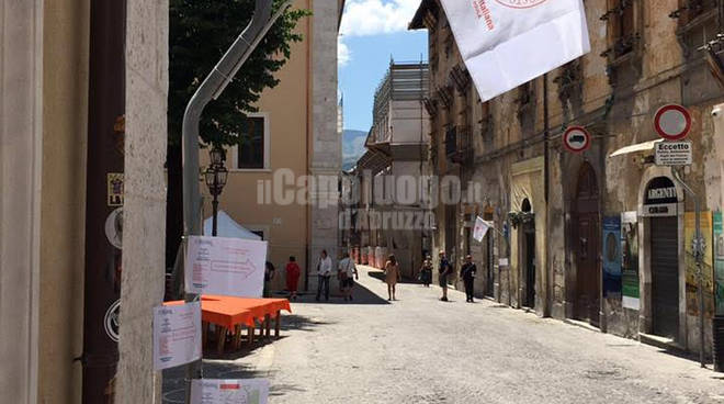croce rossa week end in centro