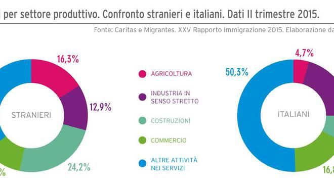 dati immigrazione occupazione