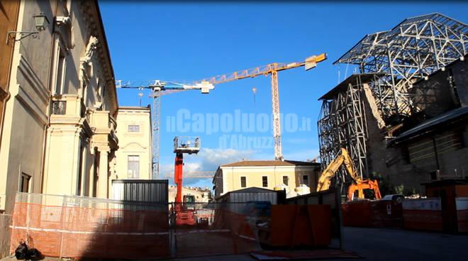 l'aquila centro storico