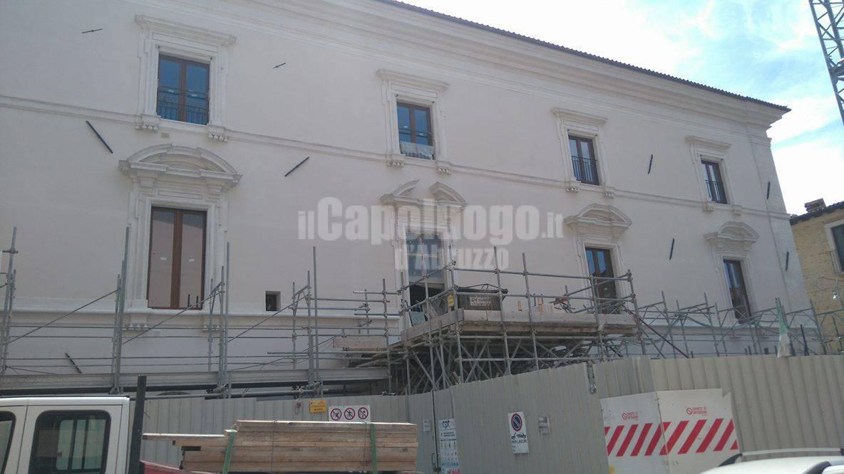 L'Aquila Via Sallustio luglio 2016