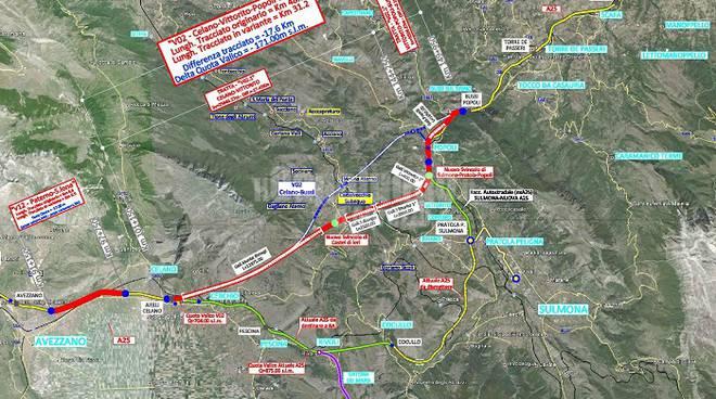 mappa ristretta Toto Valle Subequana
