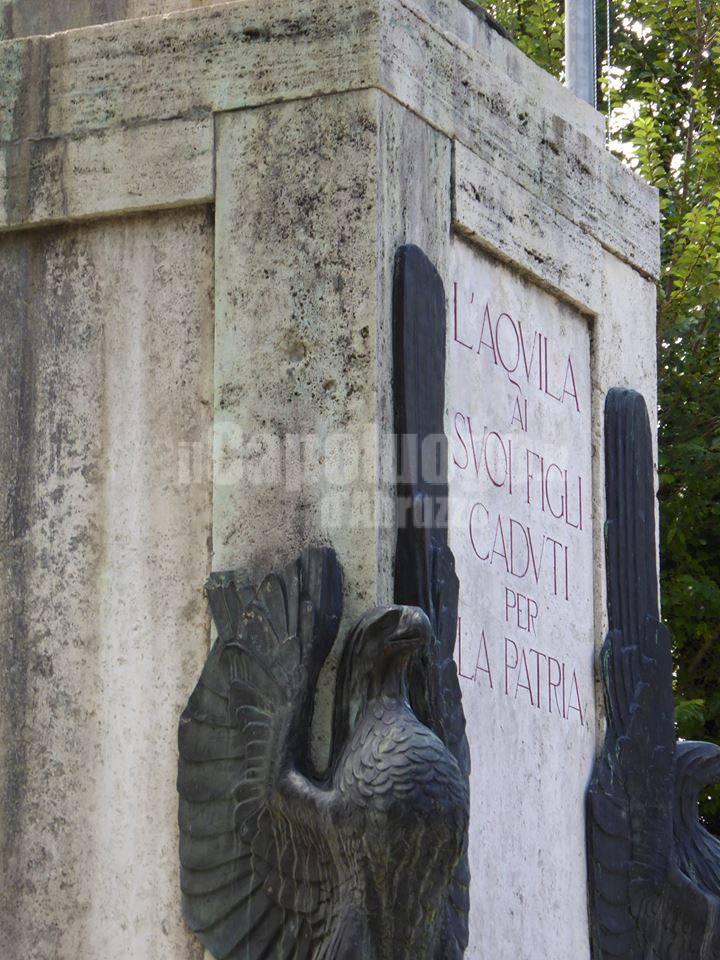 monumento ai caduti, villa