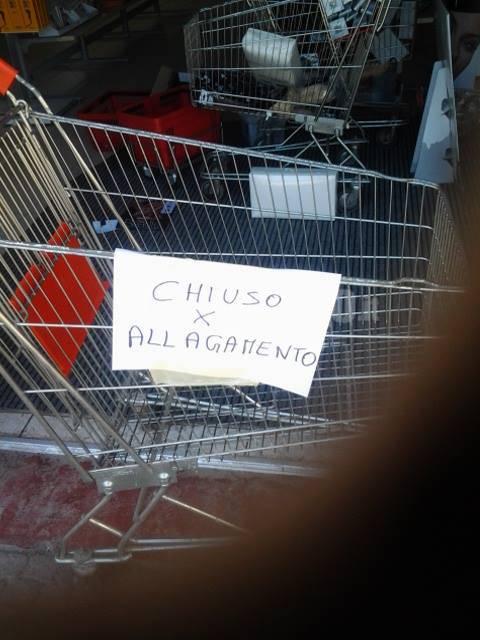 Nubifragio all'Aquila: anche Hair Shopping costretto alla chiusura