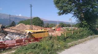 sottopasso ferroviario onna luglio 2016