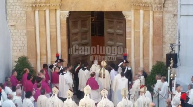 Apertura della Porta Santa 28 agosto