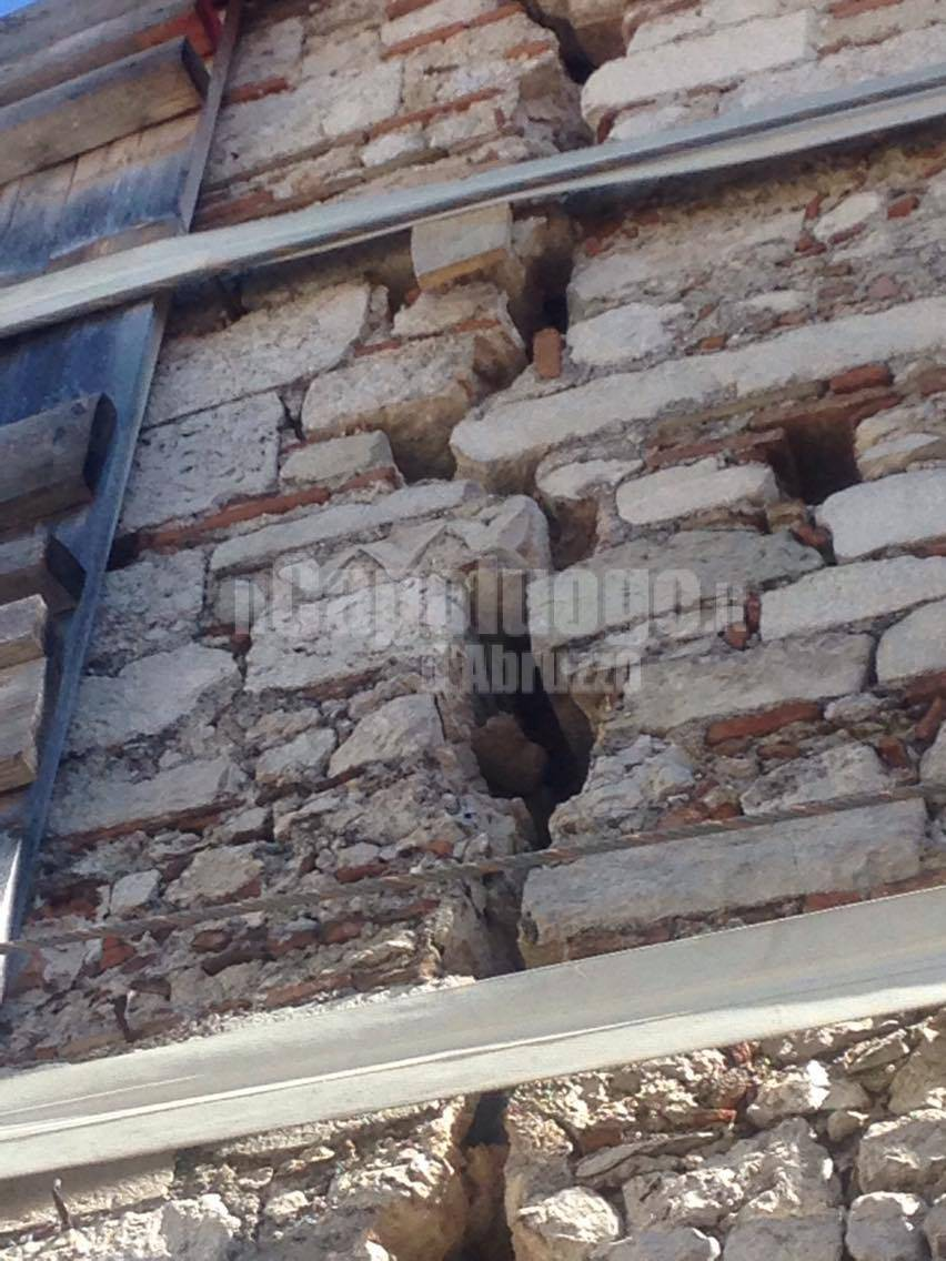 chiesa san quinziano - danni terremoto amatrice