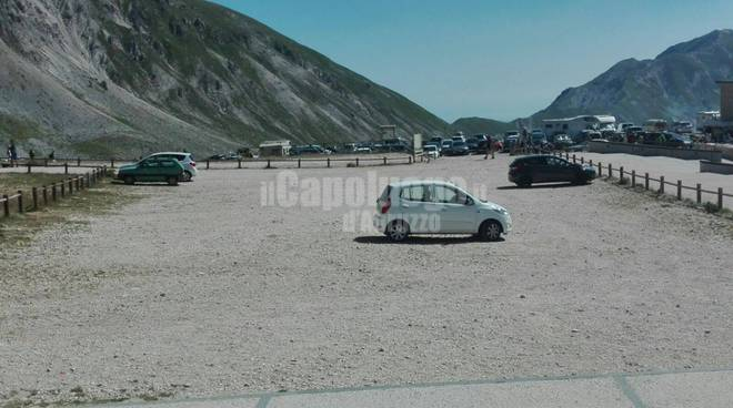 parcheggi campo imperatore