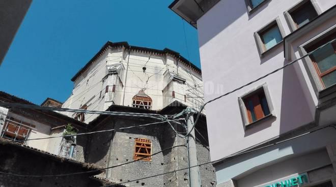 piazza della Prefettura, via dell'arcivescovado, via delle bone novelle, via sant'agostino