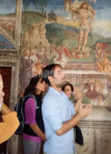 visita italia nostra a affreschi saturnino gatti tornimparte