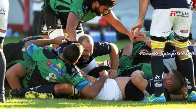 L'Aquila Rugby Club conquista il primato, gli scatti