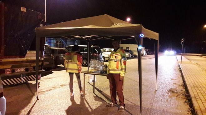 protezione civile tempera - terremoto marche 26 ottobre