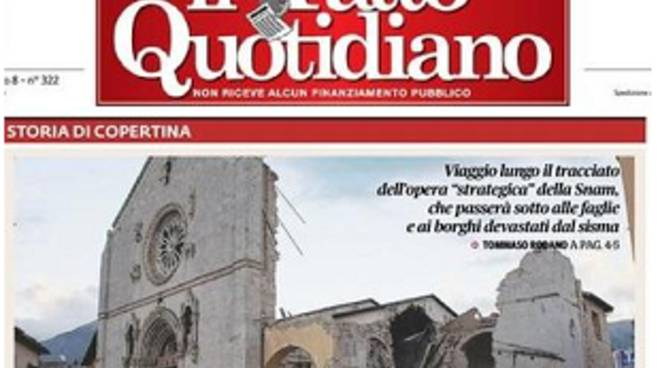 fatto quotidiano gasdotto