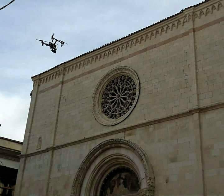 foto drone santa giusta