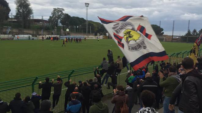 l'aquila albalonga: curva, red blue eagles, tifosi