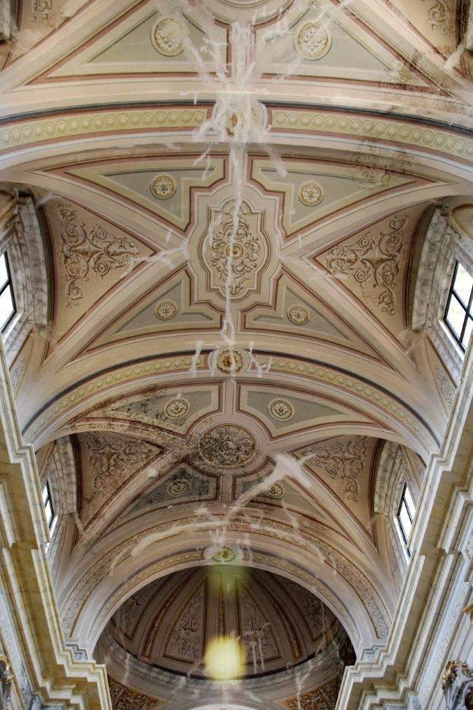 Montereale, opere salvate da chiesa danneggiata
