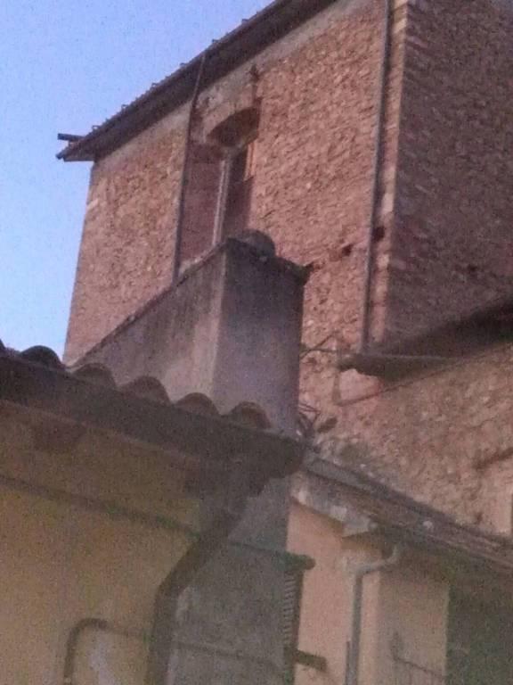 arischia, chiesa danneggiata