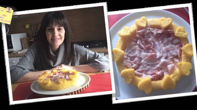 crostata di polenta