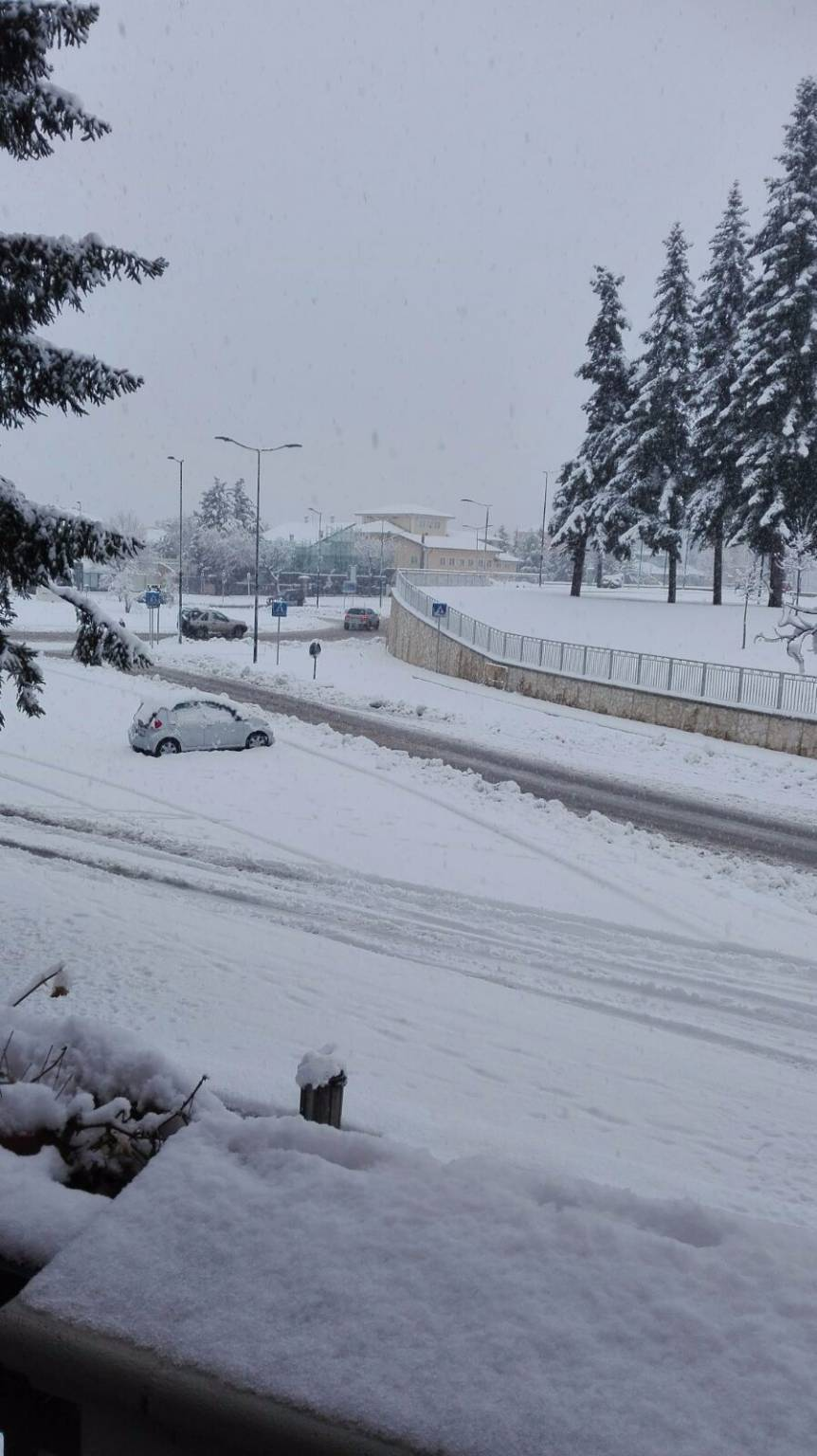 L'Aquila, neve 18 gennaio 2017