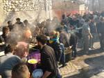 Polenta dei Capulli: Manifestazione di S. Fabiano - Scoppito AQ