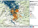 sequenza sismica nell'aquilano 18 19 gennaio: scosse e terremoto montereale