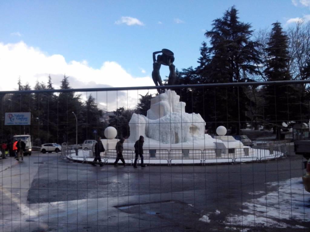 Sottoservizi Fontana Luminosa