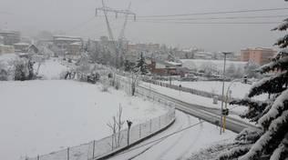 strade l'aquila neve 18 gennaio