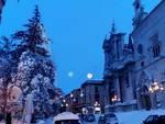 Sulmona ricoperta dalla neve