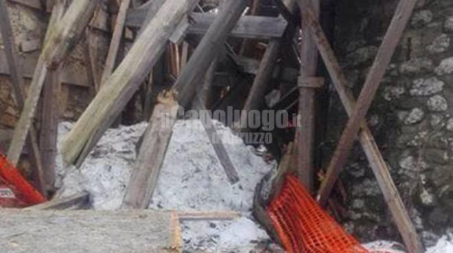 isola del gran sasso e colledara: danni post sisma