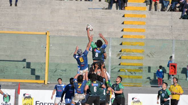 l'aquila rugby benevento, 19/2/17